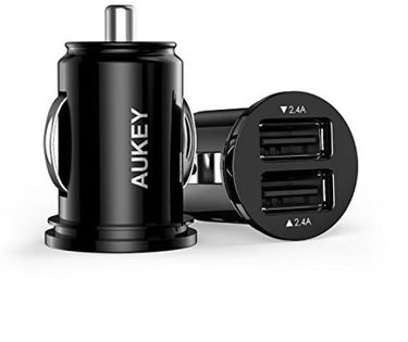 Aukey CC-S1 (4.8A / 24W) Dual USB Car Charger Price in India