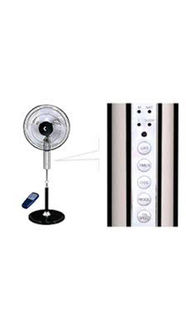 Crompton Greaves Hi Flo Aveia 3 Blade (400mm) Pedestal Fan (Remote) Price in India