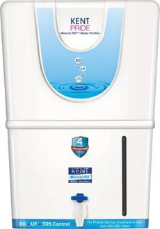Kent Pride RO+UF with TDS Controller 8L Water Purifier Price in India