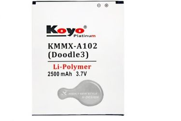 Koyo 2500mAh Battery (For Micromax A102 Doodle3) Price in India