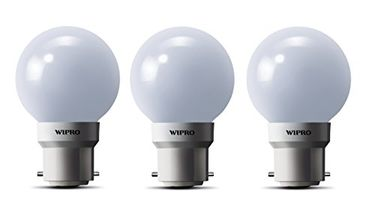 Wipro Safelite N10002 0.5W LED Night Lamp (Warm White, Pack of 3) Price in India
