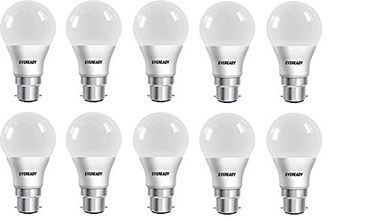 Eveready 7W LED Bulb (White, Pack of 10) Price in India