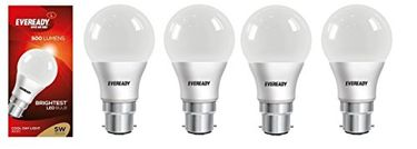 Eveready 5W LED Bulb (Cool Day Light, Pack of 4) Price in India
