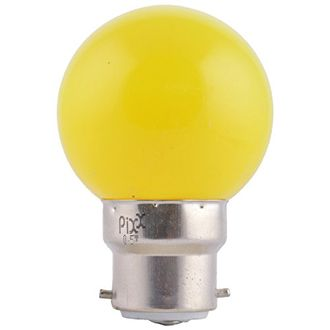 Pixx 0.5W LED Night Lamp (Yellow, Pack of 6) Price in India