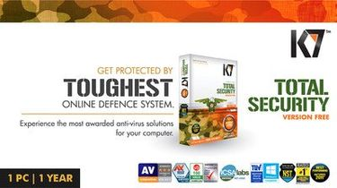 K7 Total Security 2014 1 Pc 1 Year Renewal Activation Key Price in India
