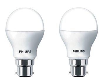 Philips Stellar Bright 10.5W LED Bulbs (Warm White,  Pack of 2) Price in India