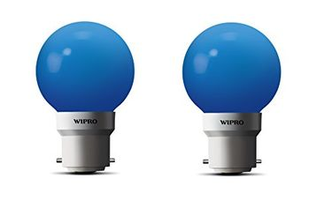 Wipro Safelite N10004 0.5W LED Night Lamp (Blue, Pack of 2) Price in India