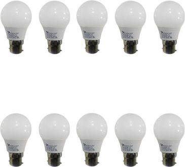 Syska 3W LED Bulbs (White, Pack of 10) Price in India