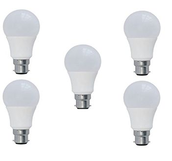 Syska 9W LED Bulbs (White, Pack of 5) Price in India