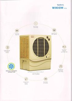Symphony Window 41 XL Window 41L Air Cooler Price in India