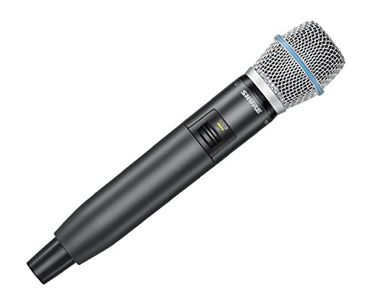 Shure GLXD2/B87A Z2 Wireless Microphone Price in India