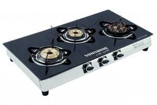 Sunshine GT 3 LBB Gas Cooktop (3 Burner) Price in India