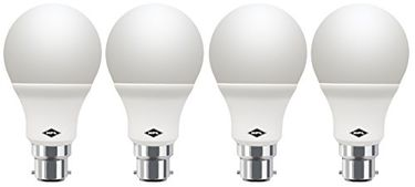HPL Round B22 7W LED Bulb (White, Pack of 4) Price in India