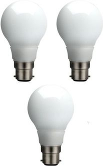 Syska 5W White Led Pa Bulbs (Pack Of 3) Price in India