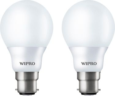 Wipro Garnet 5W White LED Bulbs (Pack Of 2) Price in India