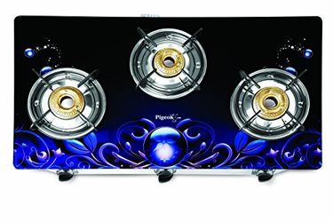 Pigeon Smart Plus Zeus Manual Ignition Gas Cooktop (3 Burner) Price in India