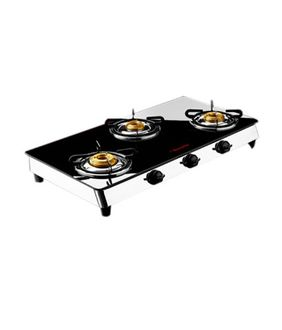 Butterfly Reflection Gas Cooktop (3 Burner) Price in India