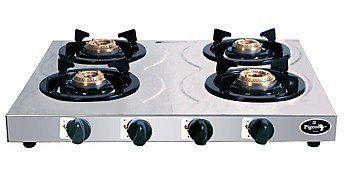 Pigeon Stainless Steel Hob LPG Gas Cooktop (4 Burner) Price in India