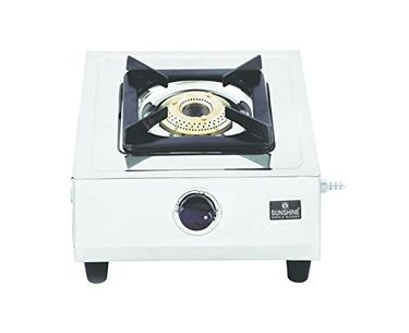 Sunshine Supreme Stainless Steel Gas Cooktop (Single Burner) Price in India