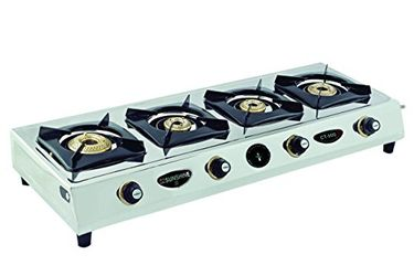Sunshine CT 900 WOC Gas Cooktop (4 Burner) Price in India