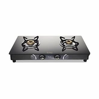 Preethi Gleam Glass GTS 102 Gas Cooktop (2 Burner) Price in India