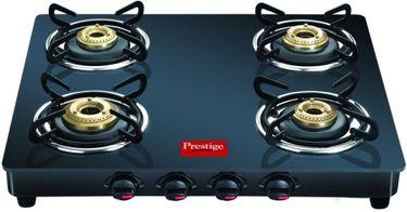 Prestige Marvel Glass GTM 04 Gas Cooktop (4 Burner) Price in India