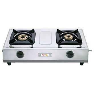 Pigeon Cute Stainless Steel Gas Cooktop (2 Burner) Price in India