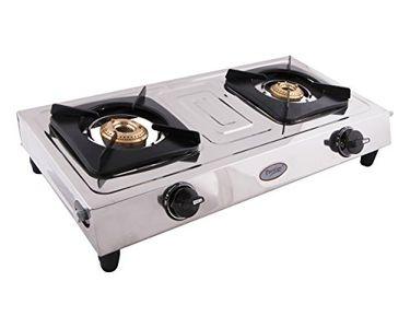 Prestige Star SS Gas Cooktop (2 Burner) Price in India