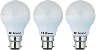 Bajaj 9 W LED CDL B22 HPF Bulb White (pack of 3) Price in India