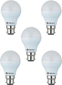 Bajaj 5 W LED CDL B22 CL Bulb White (pack of 5) Price in India