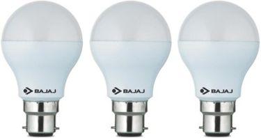 Bajaj 5 W LED CDL B22 CL Bulb White (pack of 3) Price in India