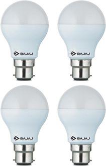 Bajaj 5 W LED CDL B22 CL Bulb White (pack of 4) Price in India