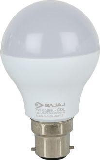 Bajaj 7 W LED CDL B22 CL Bulb White Price in India