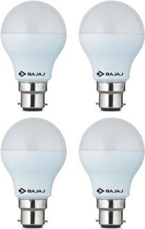 Bajaj 7 W LED CDL B22 CL Bulb White (pack of 4) Price in India