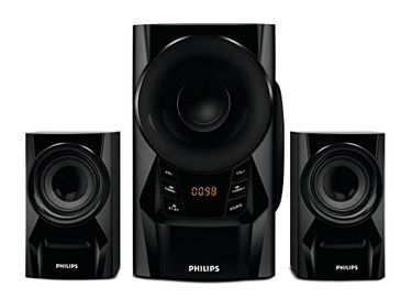 Philips MMS6080B Blue Thunder (2.1 channel) Speaker System Price in India