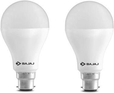 Bajaj 15 W LED CDL B22 HPF Bulb White (pack of 2) Price in India