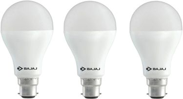 Bajaj 12 W LED CDL B22 HPF Bulb White (pack of 3) Price in India