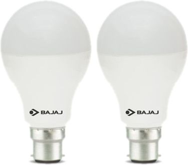Bajaj 12 W LED CDL B22 HPF Bulb White (pack of 2) Price in India