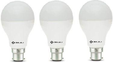 Bajaj 12 W 830066 LED Bulb B22 White (pack of 3) Price in India
