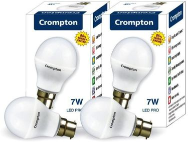 Crompton Greaves LED-7WDFCDL-PRO2-F White (pack of 2) Price in India