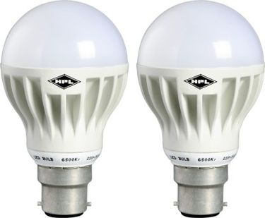 HPL B22 12W LED Bulb (White Pack of 2) Price in India