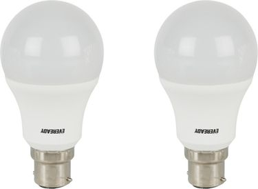 Eveready 9 W LED Bulb B22 White (pack of 2) Price in India