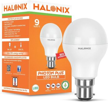 Halonix 9 W LED Astron Bulb B22 White Price in India