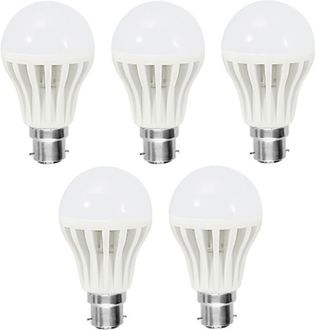 Orient 9 W LED Bulb B22 White (pack of 5) Price in India