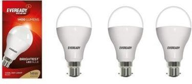 Eveready 14 W LED Warm white Bulb B22 (pack of 4) Price in India