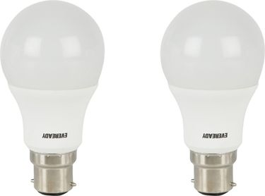Eveready 7 W LED Bulb B22 White (pack of 2) Price in India