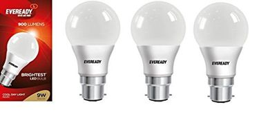 Eveready 9W Cool Day Light LED Bulb (Pack of 3) Price in India
