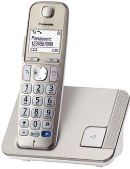 Panasonic KX-TGE210B Landline Phone Price in India