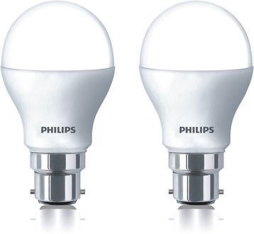 Philips 8.5 W LED 2-in-1 Color Changing Bulb B22 White,Yellow (pack of 2) Price in India