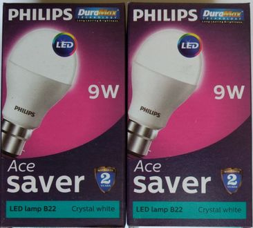 Philips 9W B22 LED Bulb (pack of 2) Price in India